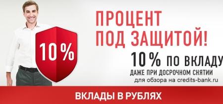 Открытие вклада в Хоум Кредите в рублях